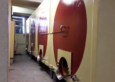 Progetto riqualificazione interno ed esterno vasi vinari